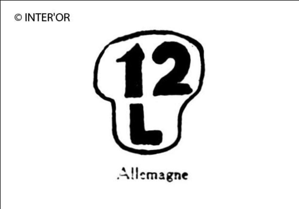Nombre 12. — lettre l