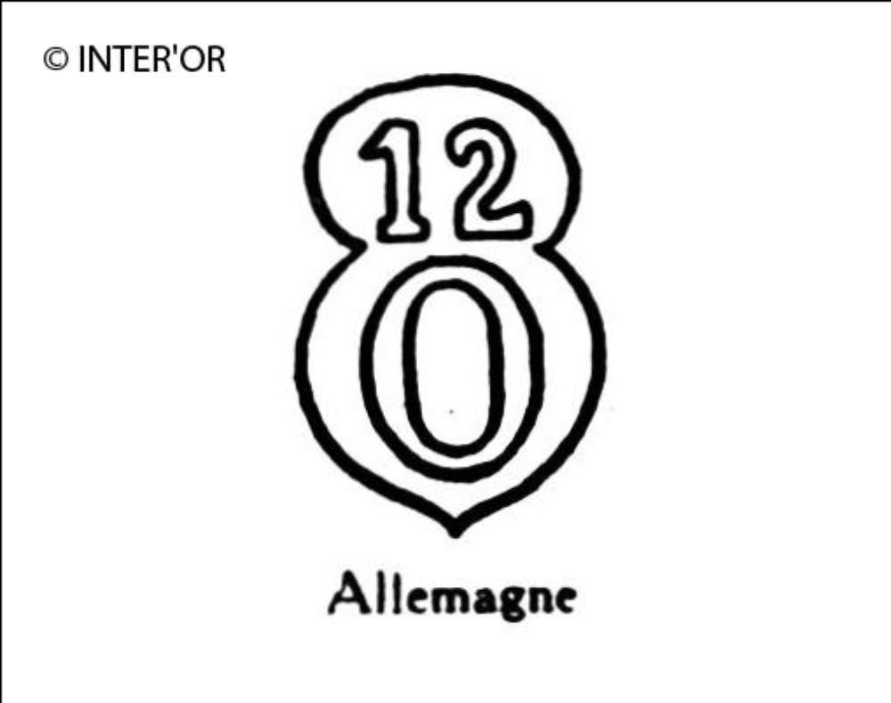 Nombre 12 sur o