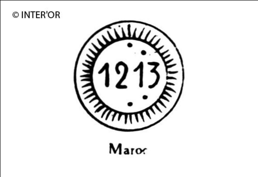 Nombre 1213 dans une double circonference