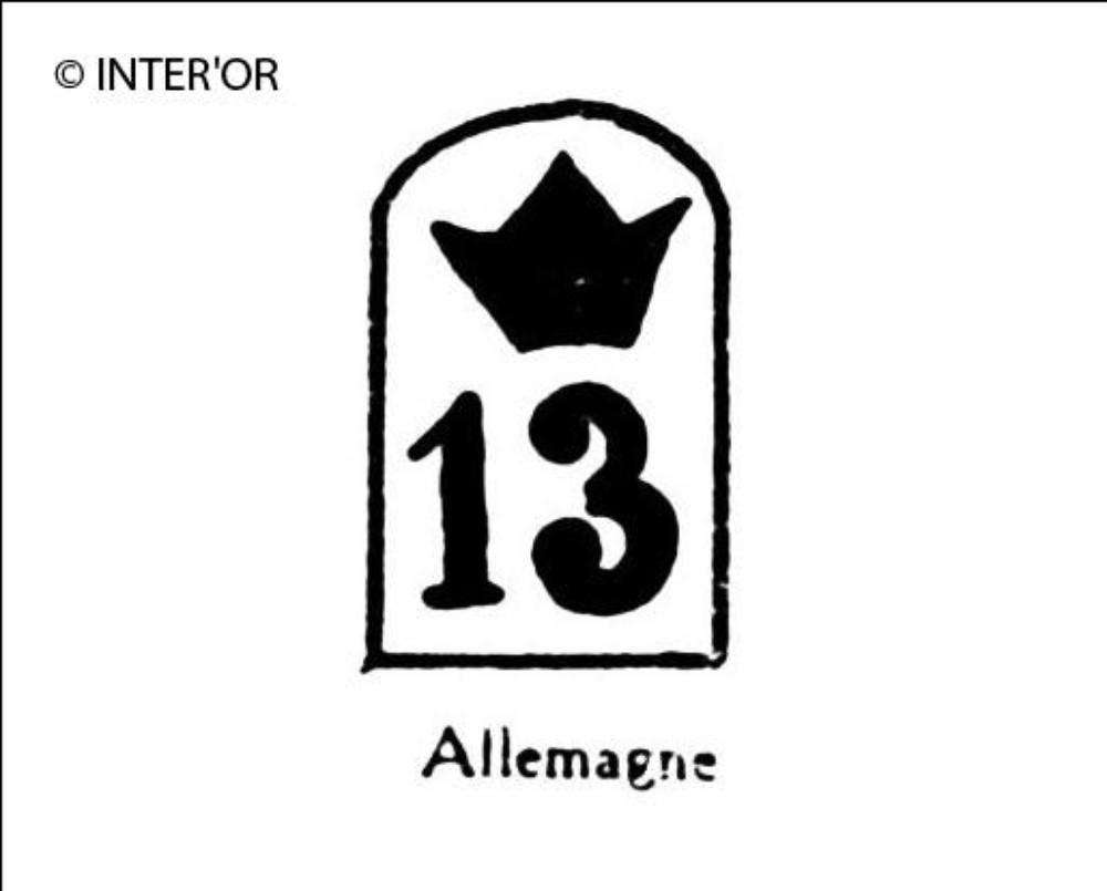 Nombre 13 couronne