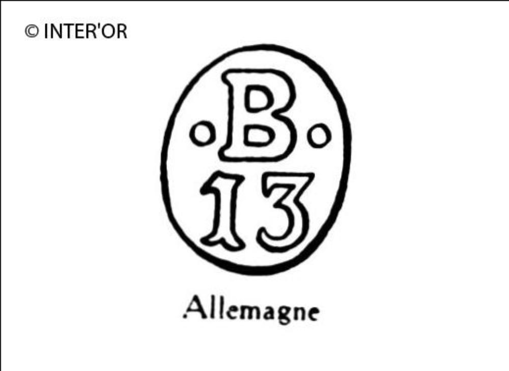 Nombre 13 sous b