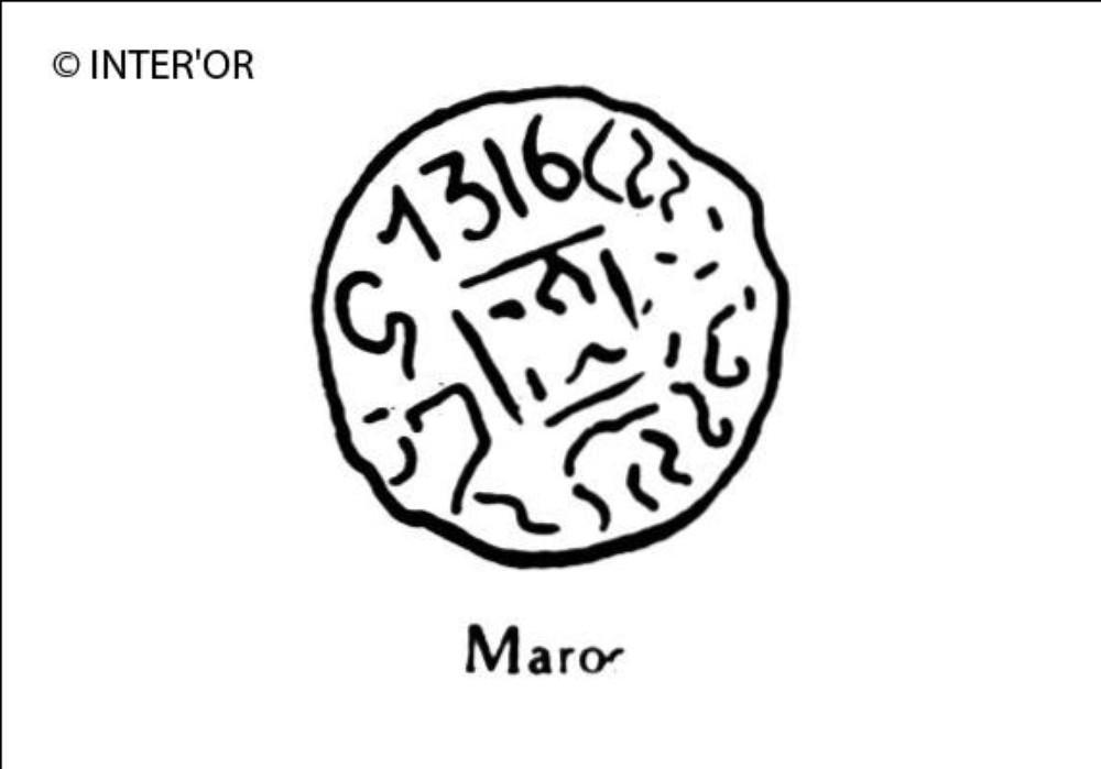 Nombre 1316 et arabesques