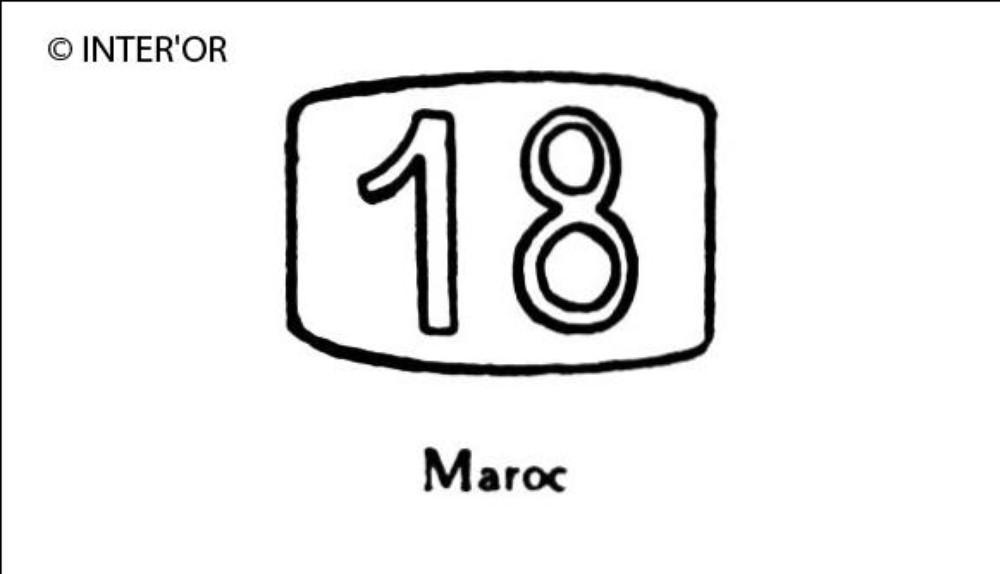 Nombre 18