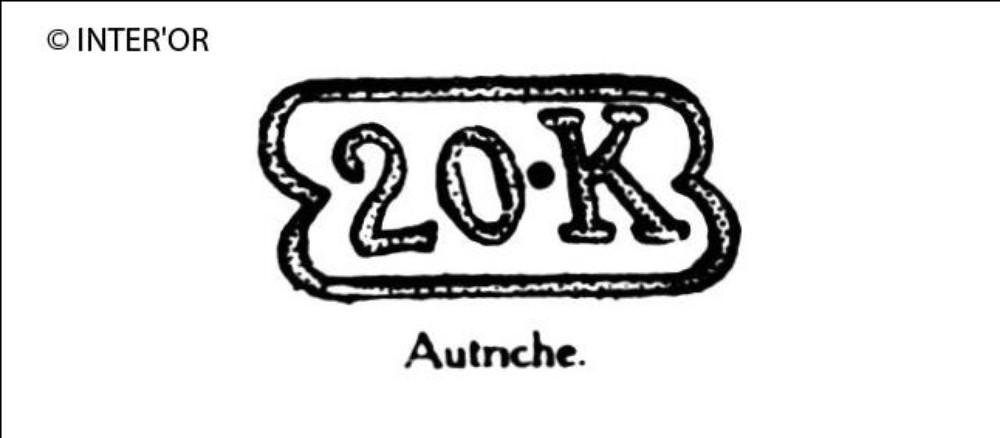 Nombre 20. — lettre k