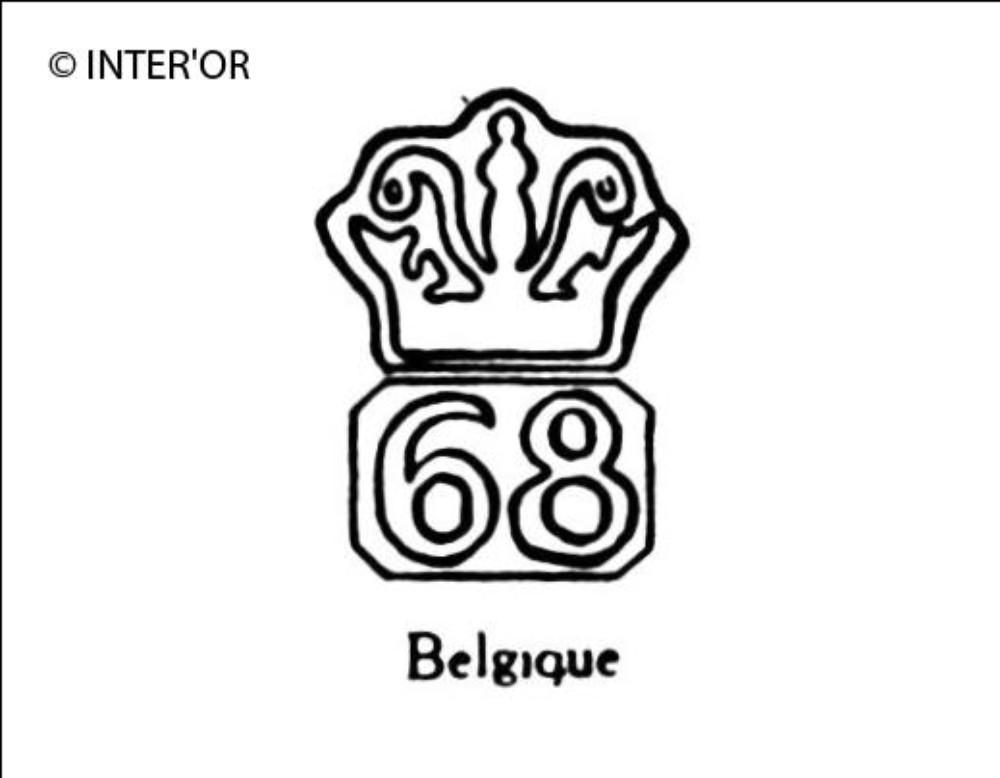 Nombre 68 couronne
