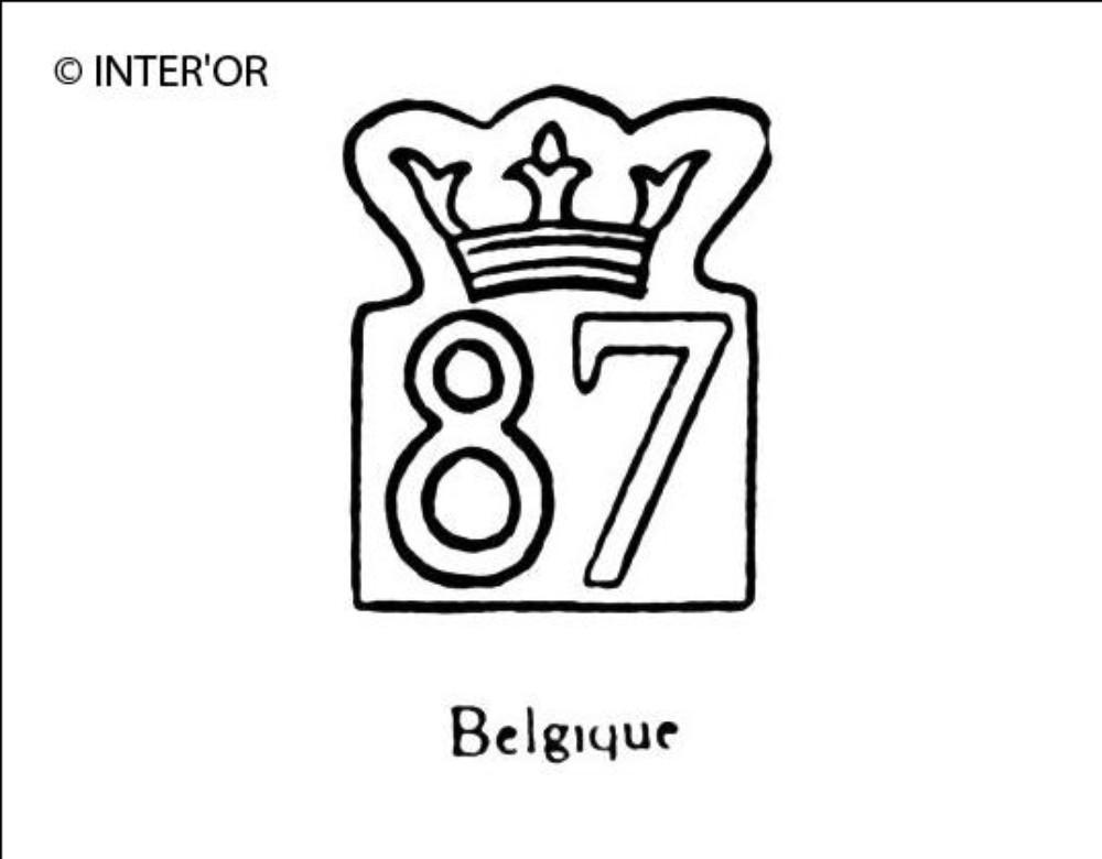 Nombre 87 couronne