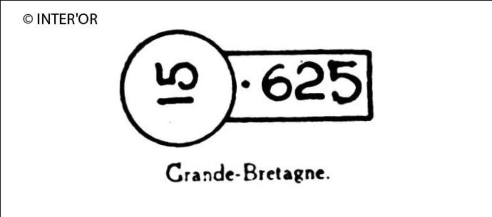 Nombres 15 et 625