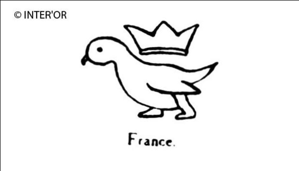 Oiseau couronne