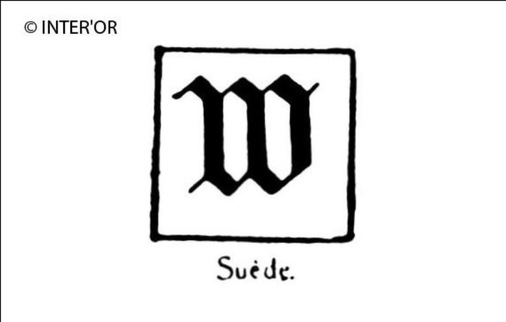 Petite lettre allemande w