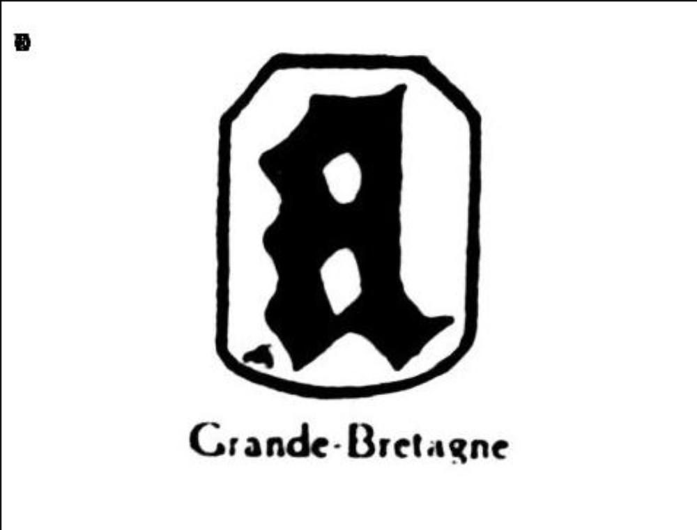 Petite lettre gothique a