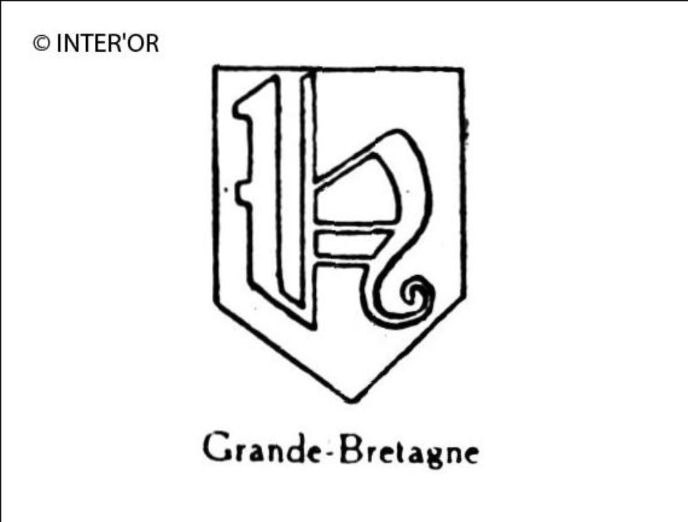 Petite lettre gothique h