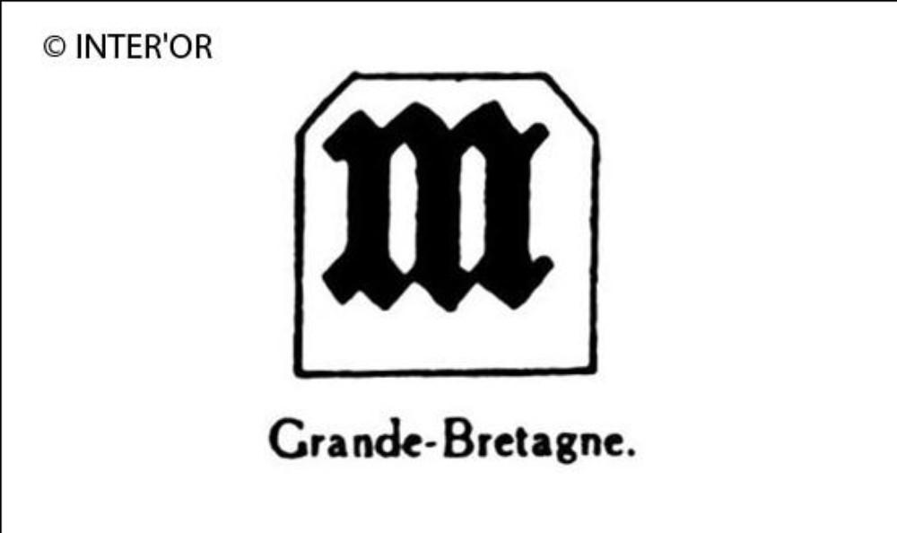 Petite lettre gothique m
