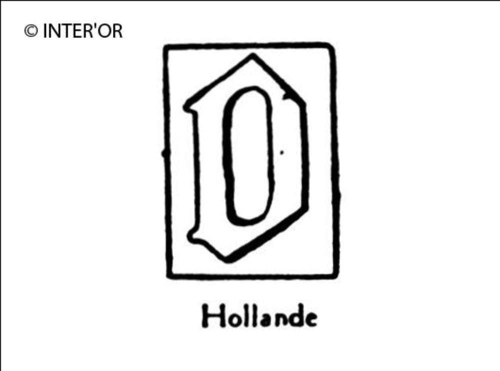 Petite lettre gothique o