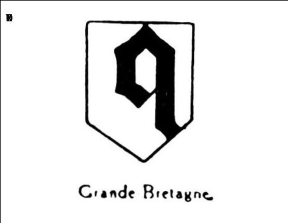 Petite lettre gothique q