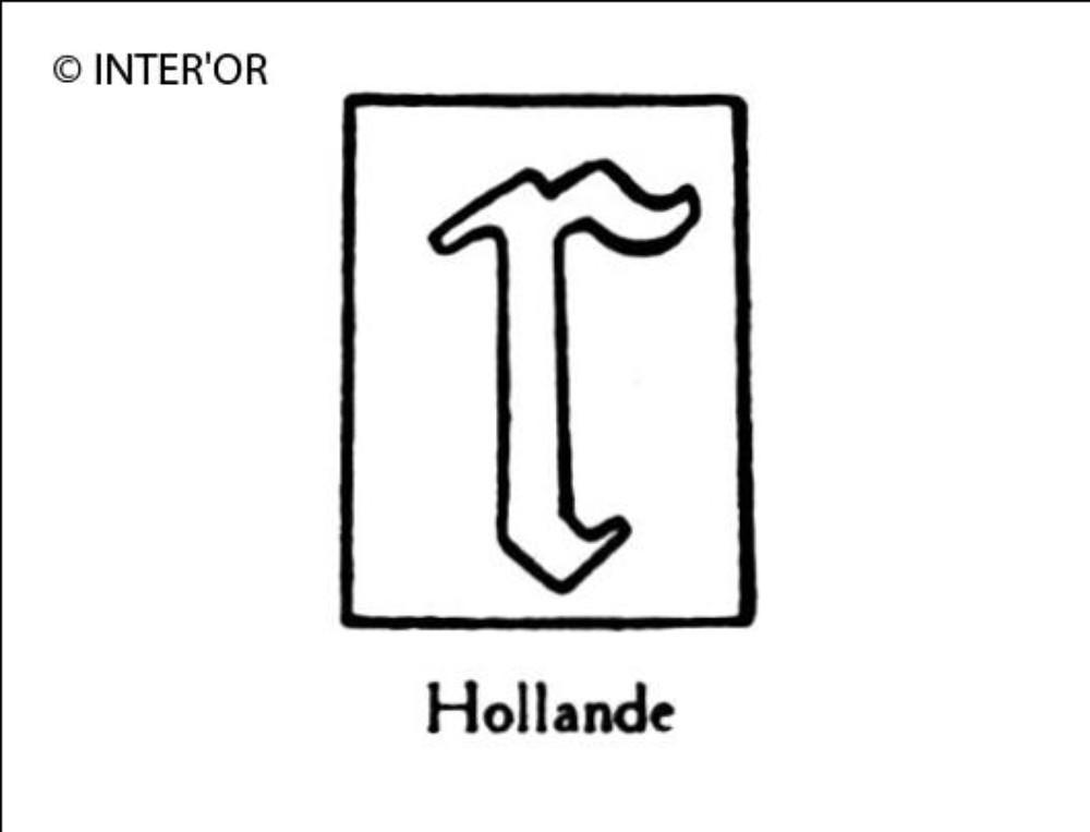 Petite lettre gothique r