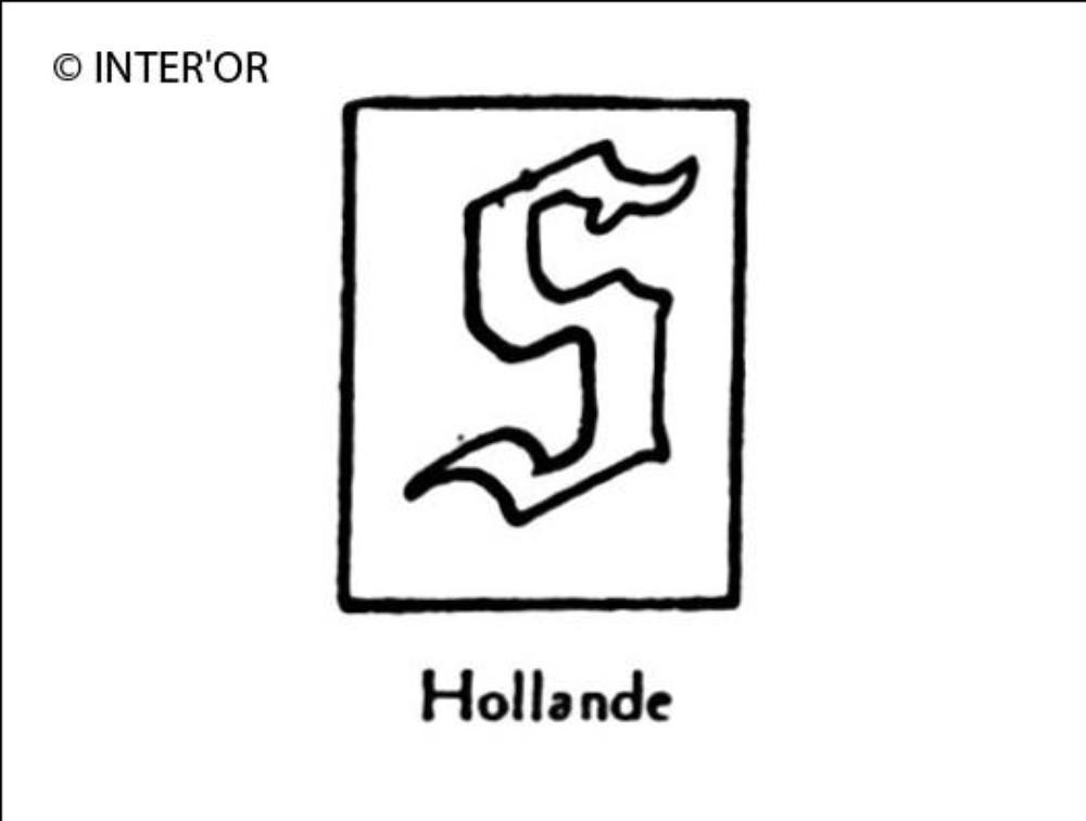 Petite lettre gothique s