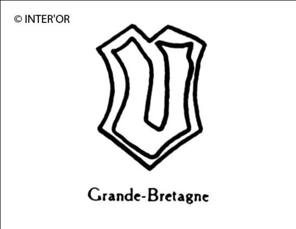 Petite lettre gothique u