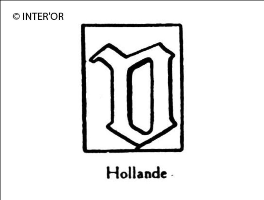 Petite lettre gothique v