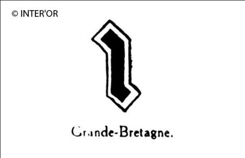 Petite lettre noire i