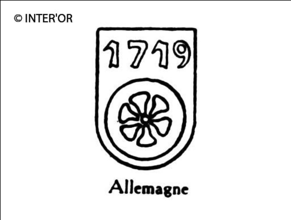 Roue sous 1719