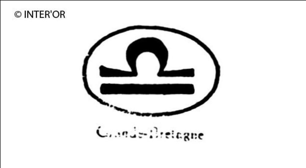 Signe « libre » dans une ellipse