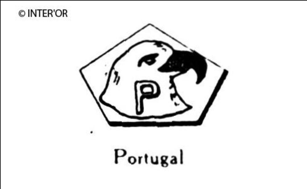 Tete d'aigle dans hexagone