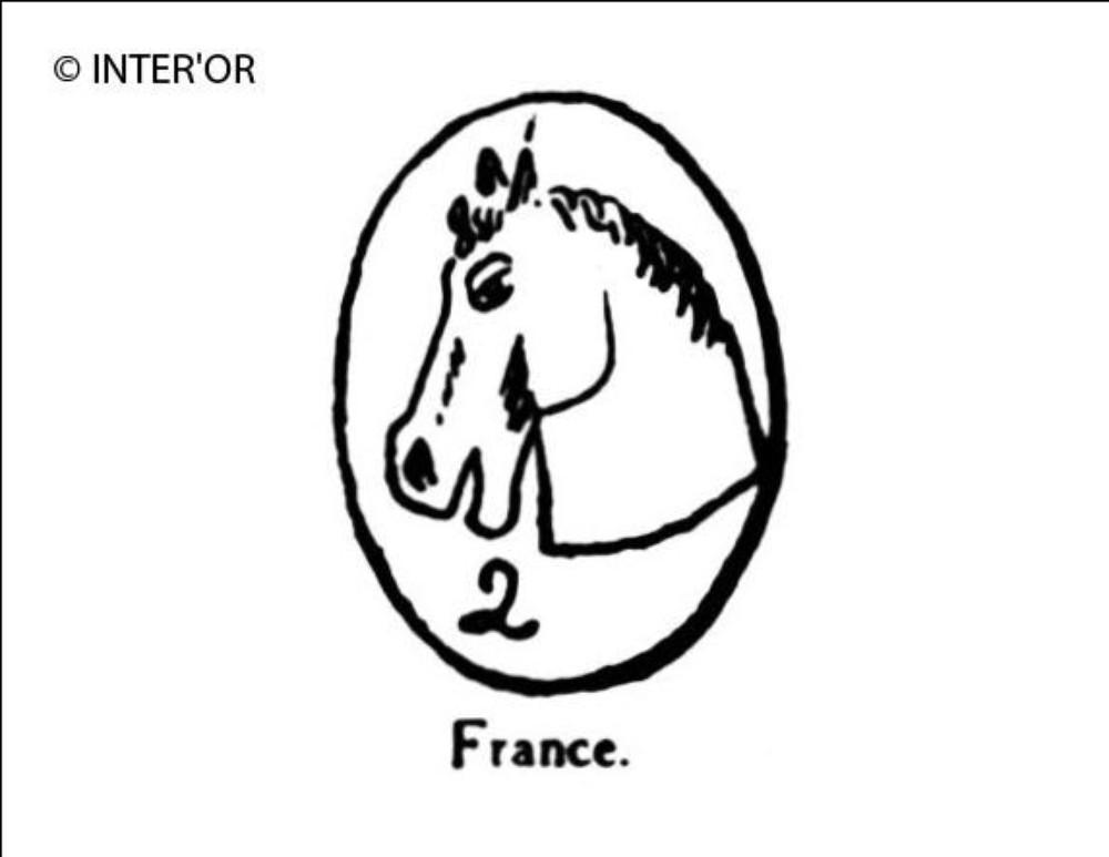 Tete de cheval. — n° 2