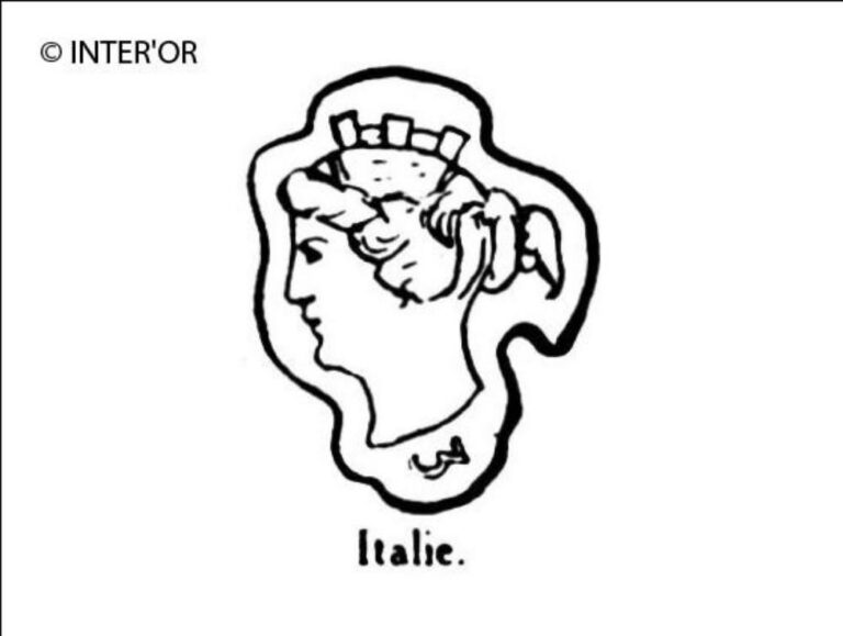 Tete de femme (italie couronnee)