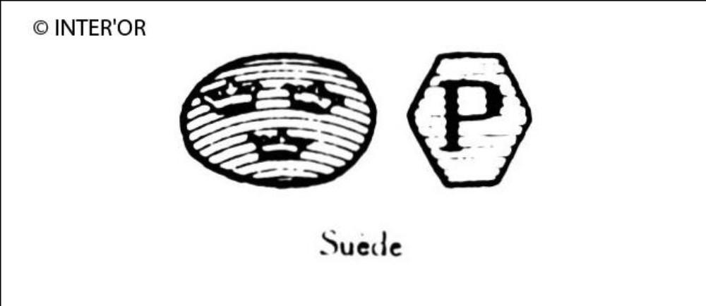 Trois couronnes et lettre p