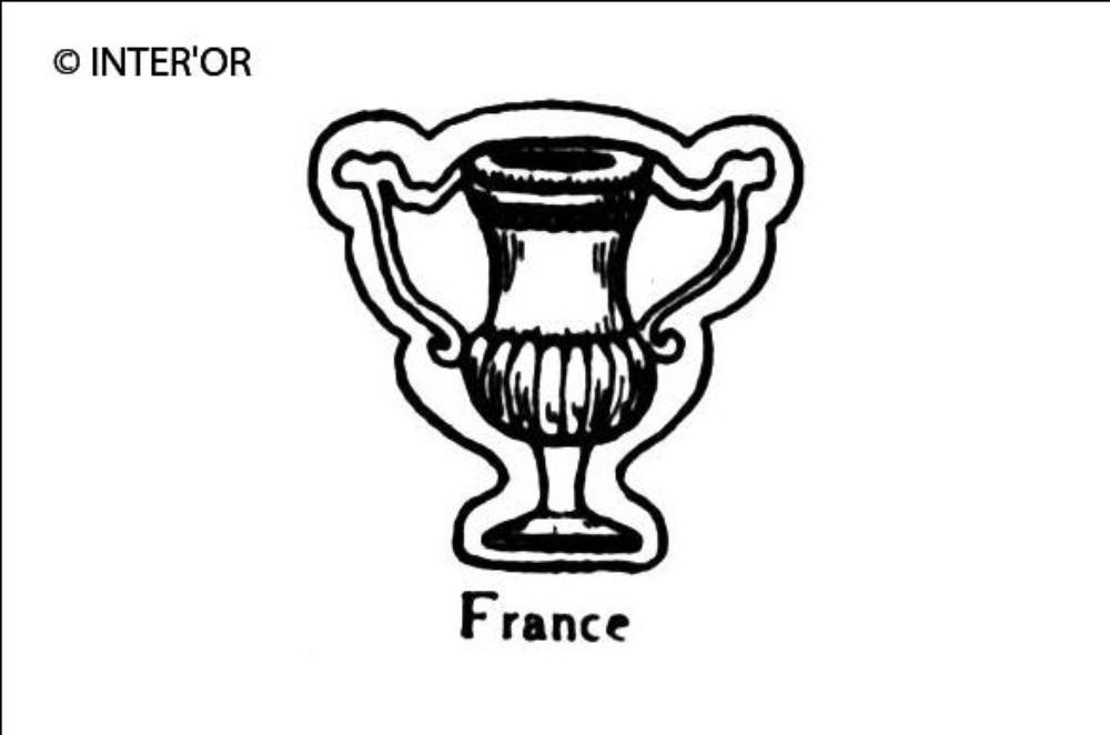 Vase antique a deux anses