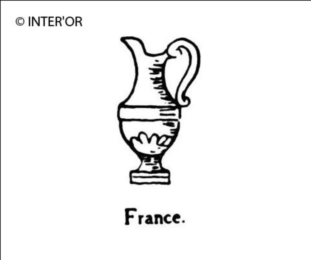 Vase en forme d'aiguiere
