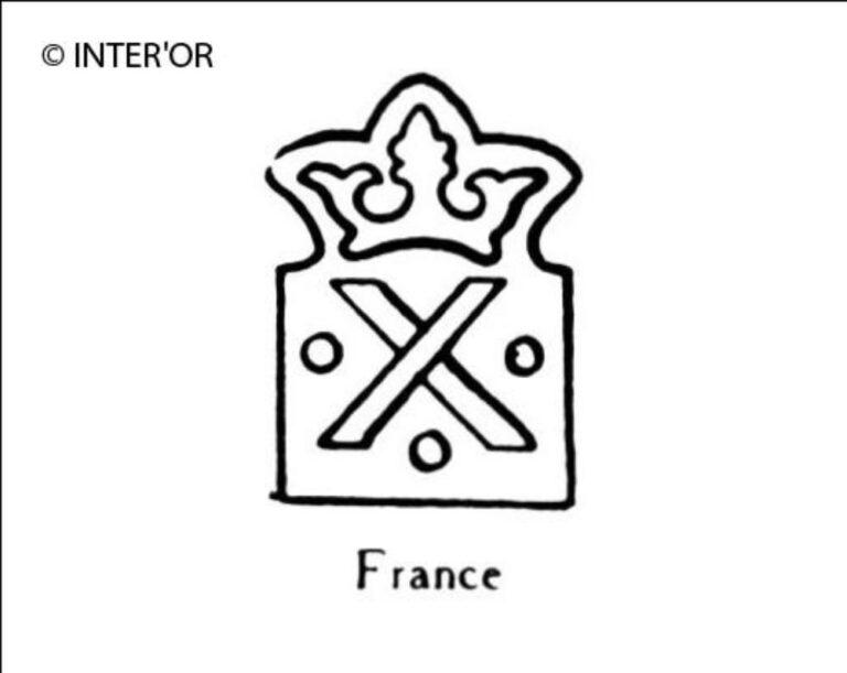 X couronne (deux barres en forme d')